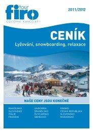 Lyžování, snowboarding, relaxace - FIRO-tour