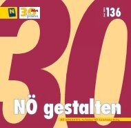 Nr. 136/Juni 2012 (Druck-Version, pdf mit - NÖ gestalten