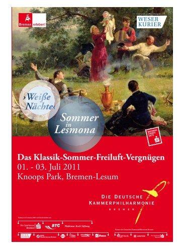 Weiße Nächte‹ - Die Deutsche Kammerphilharmonie Bremen