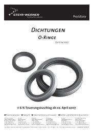 O-Ringe NBR - Steyr-Werner