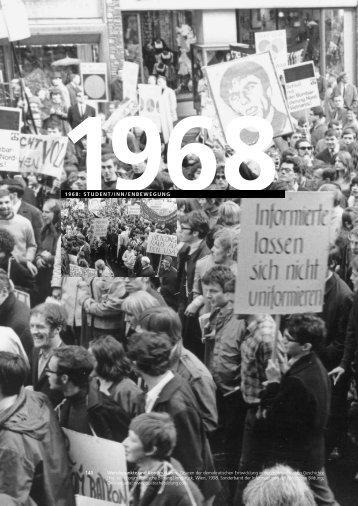 StudentInnenbewegung - forum politische bildung