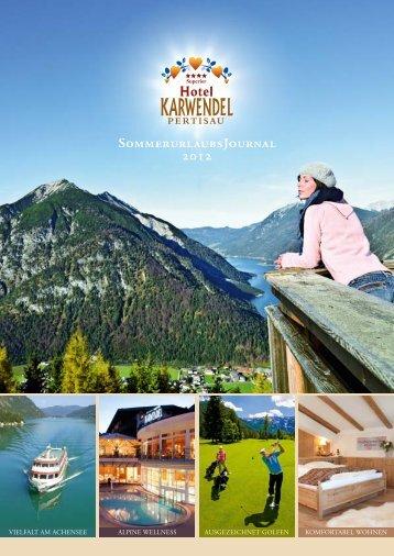 SommerurlaubsJournal 2012 - Hotel Karwendel
