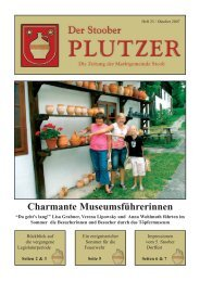 Charmante Museumsführerinnen - Marktgemeinde Stoob