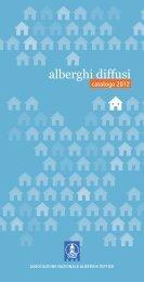 Catalogo ADI 2012 - Associazione Nazionale Alberghi Diffusi