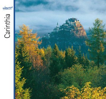 West Carinthia (pdf, 15 MB) - DOWNLOAD