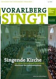 singende Kirche - Chorverband Vorarlberg