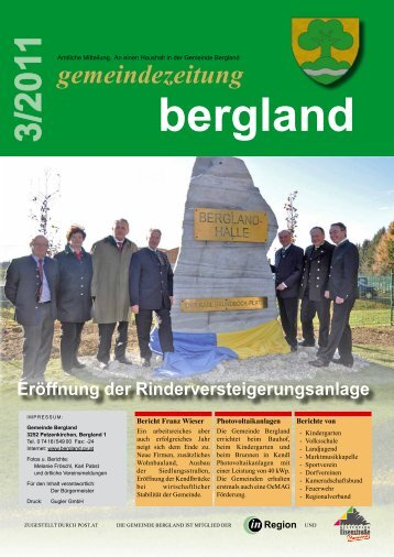 (3,58 MB) - .PDF - der Gemeinde Bergland
