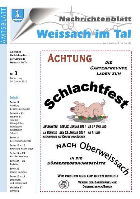 Partnersuche 50+ Weissach im Tal | Frauen & Mnner