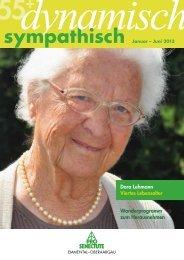 55plus dynamisch-sympatisch - Pro Senectute Emmental Oberaargau