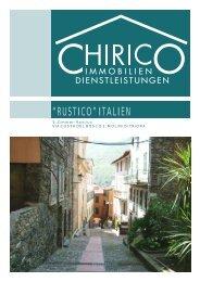 """""""RUSTICO"""" ITALIEN - Chirico Immobilien-Dienstleistungen GmbH"""