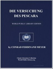 die versuchung des pescara - World eBook Library - World Public ...