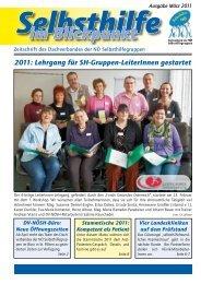 Ausgabe März 2011 - Dachverband der NÖ Selbsthilfegruppen
