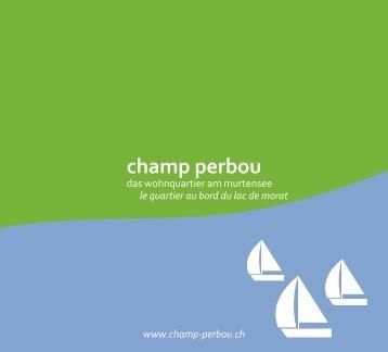 champ perbou - LZ&A architectes epf sia sa