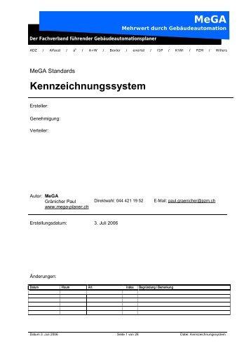 MeGA Kennzeichnungssystem - mega-planer