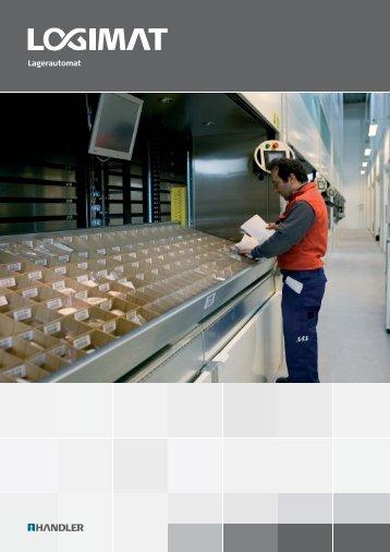 LogiMat Lagerlift von Handler - Lagersystem-Service-Weiss
