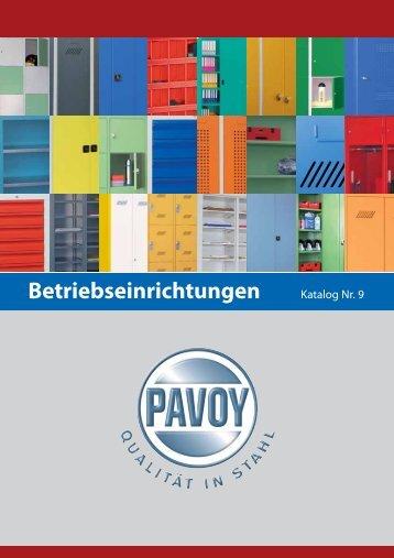 Stahlschränke PAVOY - Lagertechnik Köln