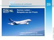 Fachbereich 4 - Elektrotechnik, Avionik des DIN NLs in der ... - ILA