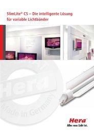 SlimLite® CS – Die intelligente Lösung für variable Lichtbänder - Hera