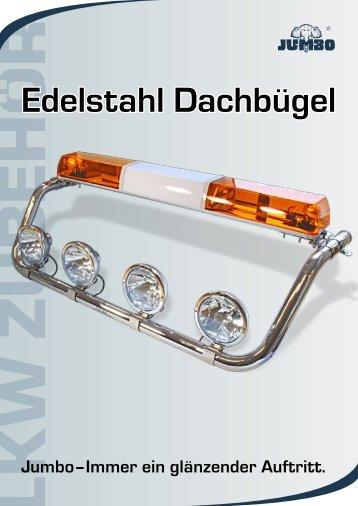 Edelstahl Dachbügel - Jumbo-Fischer