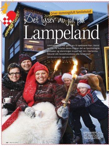 Mamma laget alltid julepålegg fra bunnen av ... - Lampeland Hotell