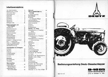 Er.|T Dnqlls - Deutz Traktoren und Erntetechnik