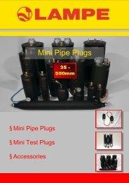 Mini Pipe Plugs