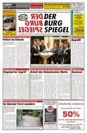 SCHHHFF - Der BurgSpiegel / Der Genthiner