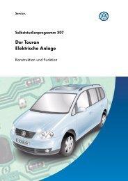 Der Touran Elektrische Anlage - UA VW Club