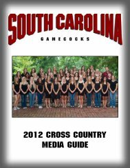2012 Cross Country Media Guide - Community