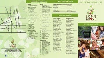 Associate Members 2012 Calendar & Events Directory ... - Long Grove