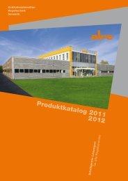 Produktkatalog 2011 2012 - ALRE