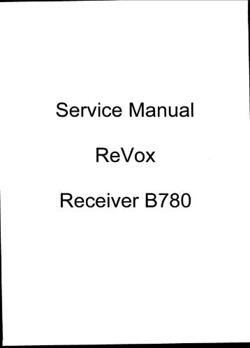 Service Manual of the Standard AX-700 receiver / scanner