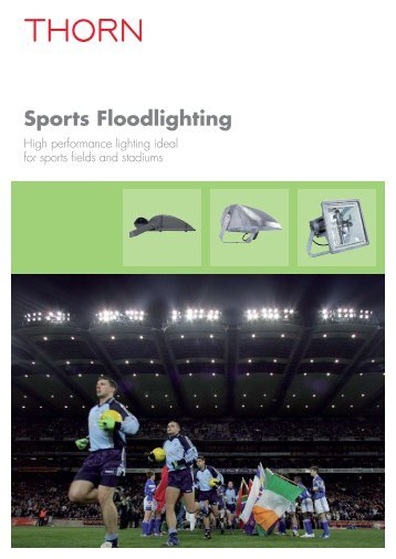 Sports Floodlighting - THORN Lighting