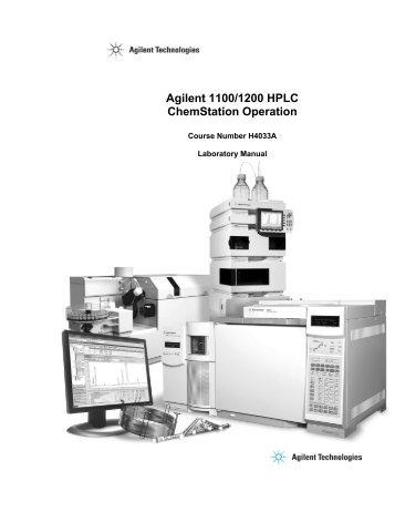 Chemstation Manual 1100