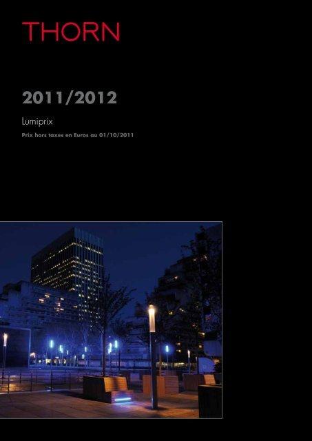 Octobre 2011 Thorn 1er Lumiprix Lightingaccueil F13KJclT