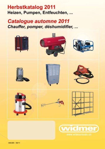 Herbstkatalog 20 Catalogue automne 2011 - hausammann ag, ch ...