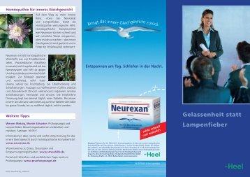 Heel Lampenfieber2.indd - Neurexan.de