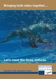 Let's meet the three cultures - EuroMed Youth Programme IV
