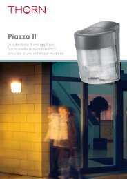 Brochure Piazza II - THORN Lighting