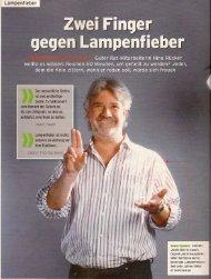 Zwei Finger gegen Lampenfieber - Web-Server - Bad Request