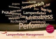 Lampenfieber-Management - Brigitta Ebnöther MA