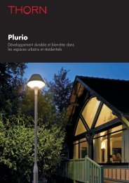 Brochure Plurio - THORN Lighting