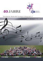 Zeitschrift der Musikschule Isernhagen & Burgwedel e.V.