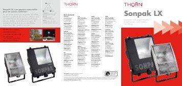 Sonpak LX 15/25/40 - THORN Lighting