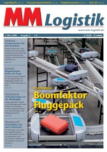 Boomfaktor Fluggepäck - MM Logistik