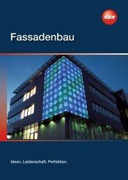 Fassadenbau - SWS Gesellschaft für Glasbaubeschläge mbH