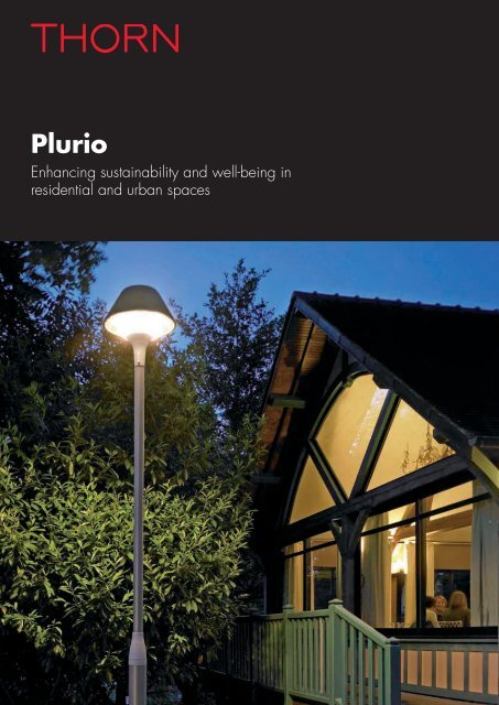 Plurio Effect Product Features - Thorn