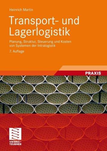 Transport- und Lagerlogistik (7. Auflage, Vieweg+ ... - Brussig-Online