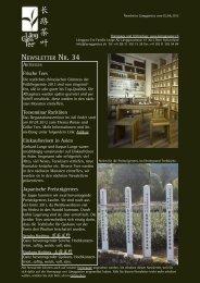 Newsletter Nr. 34 vom 02. Juni 2012 - Länggass-Tee