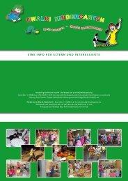 Flyer - Ewaldi Kindergarten